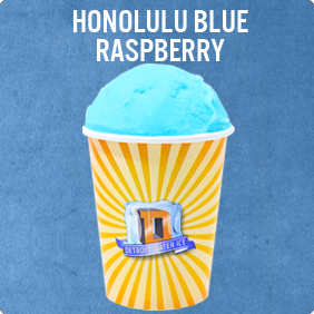 Honolulu Blue Raspberry