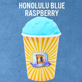 Honolulu Blue Raspberry