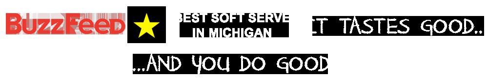 buzzfeed - voted best soft serve in michigan