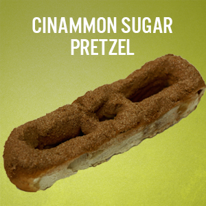 Philly Pretzels: Cinnamon Sugar
