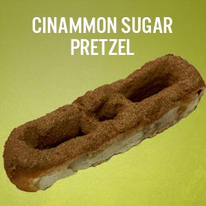 Philly Pretzels: Cinnamon Sugar