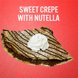 Sweet Motown Crepes: Nutella