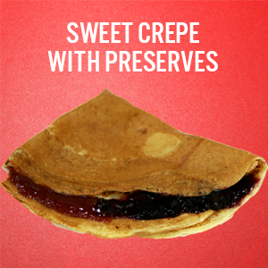 Sweet Motown Crepes: Preserves