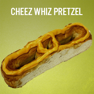 Philly Pretzels: Cheese