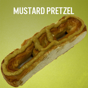 Philly Pretzels: Mustard