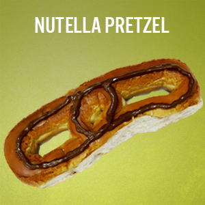 Philly Pretzels: Nutella