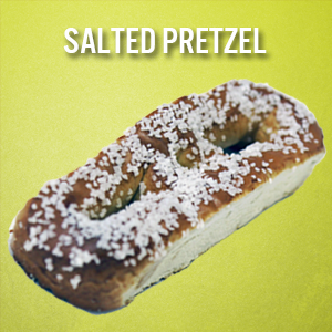 Philly Pretzels: Salted