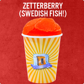 The Zetterberry (Swedish Fish!)