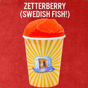 The Zetterberry (Swedish Fish!)